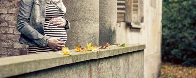 Maternidade e conceito do bebê Foto de Stock Royalty Free