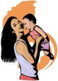Maternità royalty illustrazione gratis