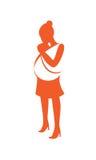 Maternità illustrazione vettoriale