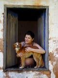 Maternità in natura fotografia stock libera da diritti