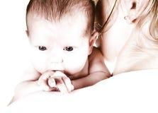 maternité principale élevée Image libre de droits