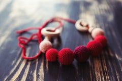 Maternity beads, sling beads Stock Image