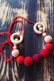 Maternity beads Stock Photo