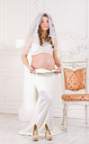 Maternity Dresses surprise Royalty Free Stock Images