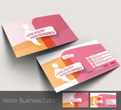 Maternity Hospital Business Card Royalty Free Stock Photography