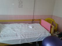 Maternity hospital, preparation for childbirth Stock Photography