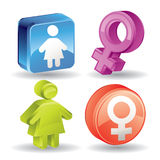 Maternity Icon - Super Render Royalty Free Stock Photography