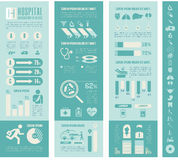 Maternity Infographic Template. Flat Maternity Infographics Elements plus Icon Set. Vector Stock Photography
