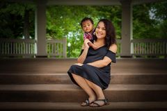 Maternity momma Stock Image