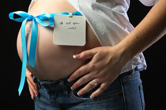Maternity portraits Stock Photos