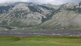 Matese湖概要由风抨击了 股票录像
