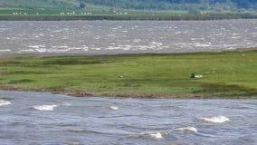 Matese湖概要由风抨击了 影视素材