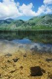matese的湖 库存照片