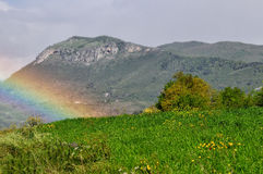 Matese, горы Молизе Стоковые Изображения RF
