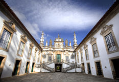 Mateus Palace, Portugalia stock photo