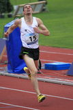 Mateusz Demczyszak - 1500 metres race in Prague 2 Stock Photos