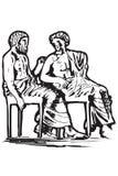 matgreece symboler Vektor Illustrationer