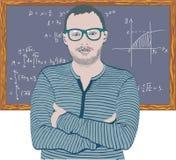Mathématicien Photos stock