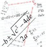 Mathématiques Images stock