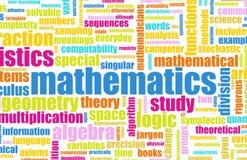 Mathématiques illustration de vecteur