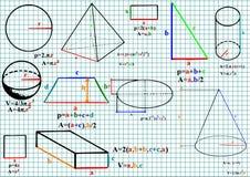 Mathématiques Photographie stock