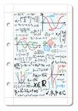 Mathématiques Image libre de droits