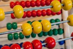 Mathématiques avec des balles images libres de droits