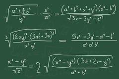math Royaltyfri Foto