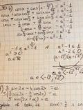 math Royaltyfria Foton