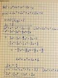 math Arkivbilder