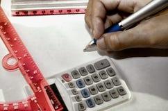 math Fotografering för Bildbyråer