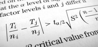 Math Royalty-vrije Stock Afbeelding