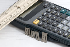 Math Royalty Free Stock Photo
