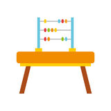 Math abacus isolated icon Royalty Free Stock Photos