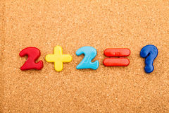 Math Addition Stock Images