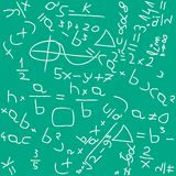 Math backgound Stock Image