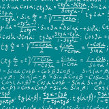 Math background Stock Photography
