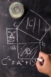 Math calculations Stock Photos