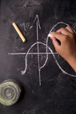 Math calculations Stock Photography
