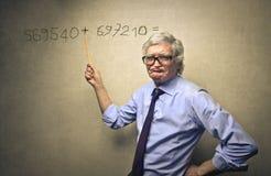 Math classes Stock Image