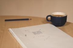Math desk Stock Images
