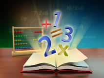 Math education Stock Image