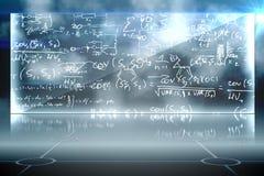 Math equation background Royalty Free Stock Photo