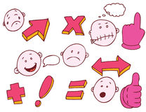 Math Expressions Royalty Free Stock Images