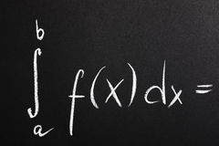 Math formula Royalty Free Stock Photo