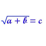 Math formula Royalty Free Stock Photography