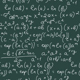 Math Formulas Royalty Free Stock Image