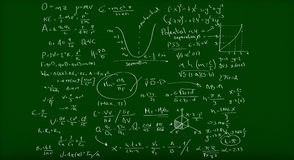 Math formulas Royalty Free Stock Photography