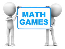 Math games Royalty Free Stock Photography