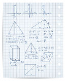 Math and geometry set Stock Photography